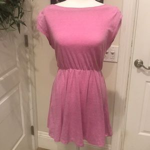GAP Designed & Crafted Cap Sleeve Pink Dress